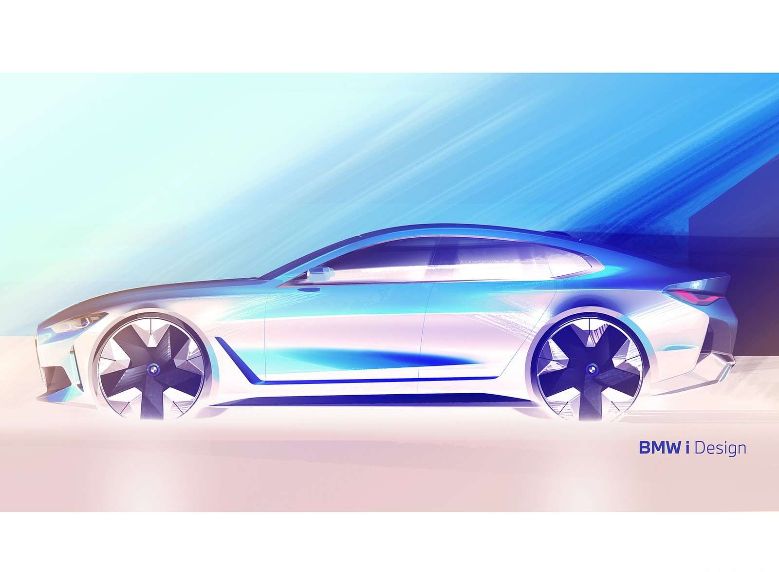 2022 BMW i4 Design Sketch Wallpapers  (9)