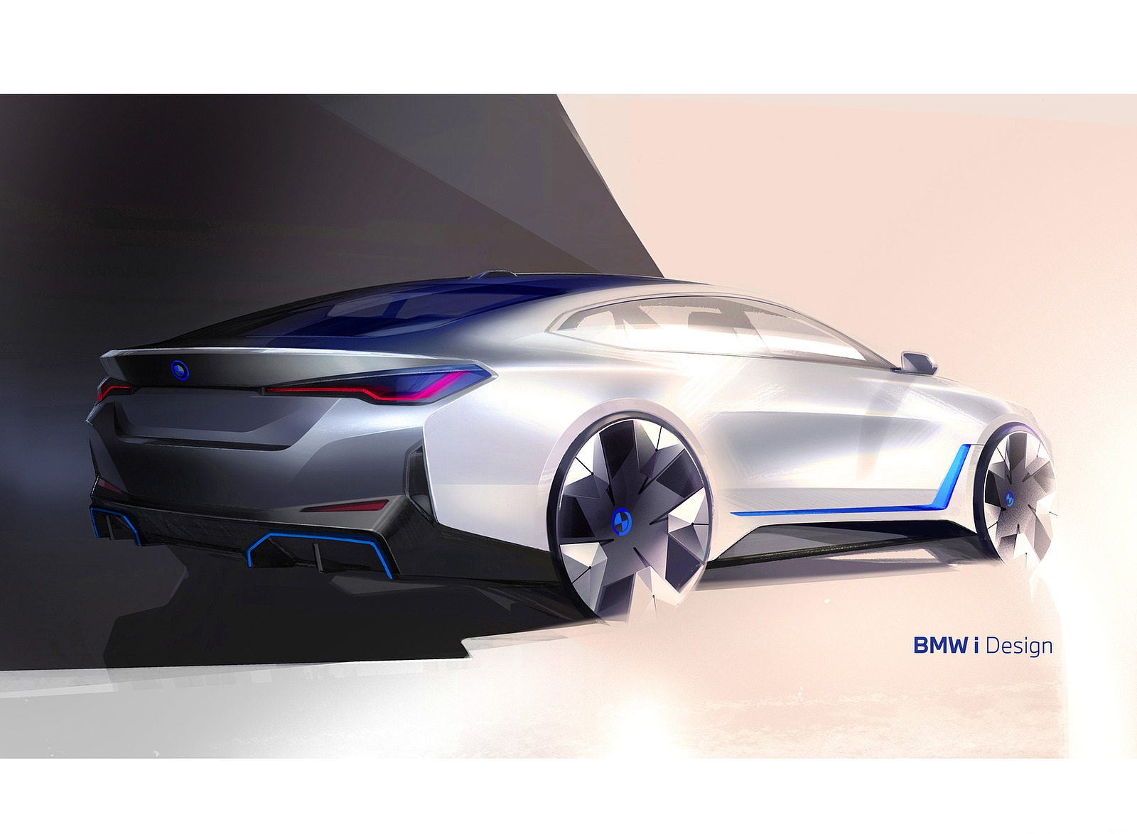 2022 BMW i4 Design Sketch Wallpapers (8)