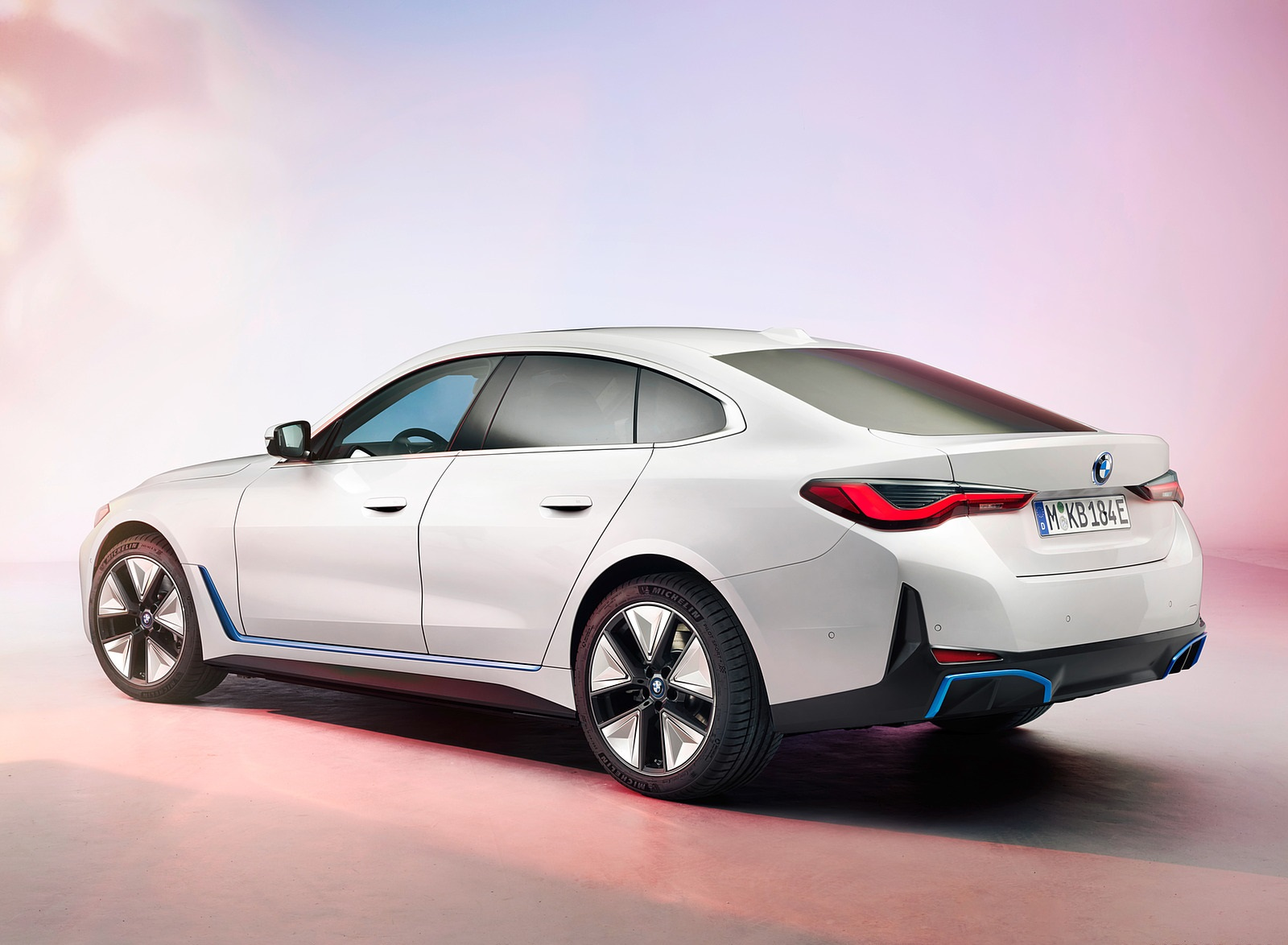 2022 BMW i4 Rear Three-Quarter Wallpapers (5)