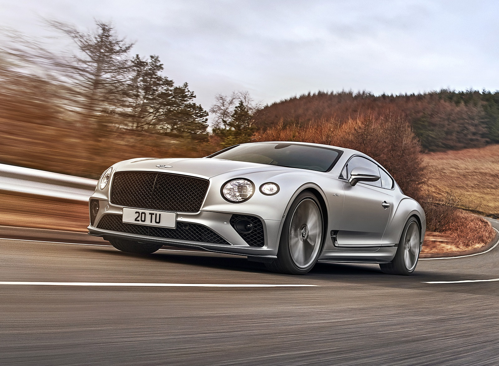 2022 Bentley Continental GT Speed Front Three-Quarter Wallpapers  (1)