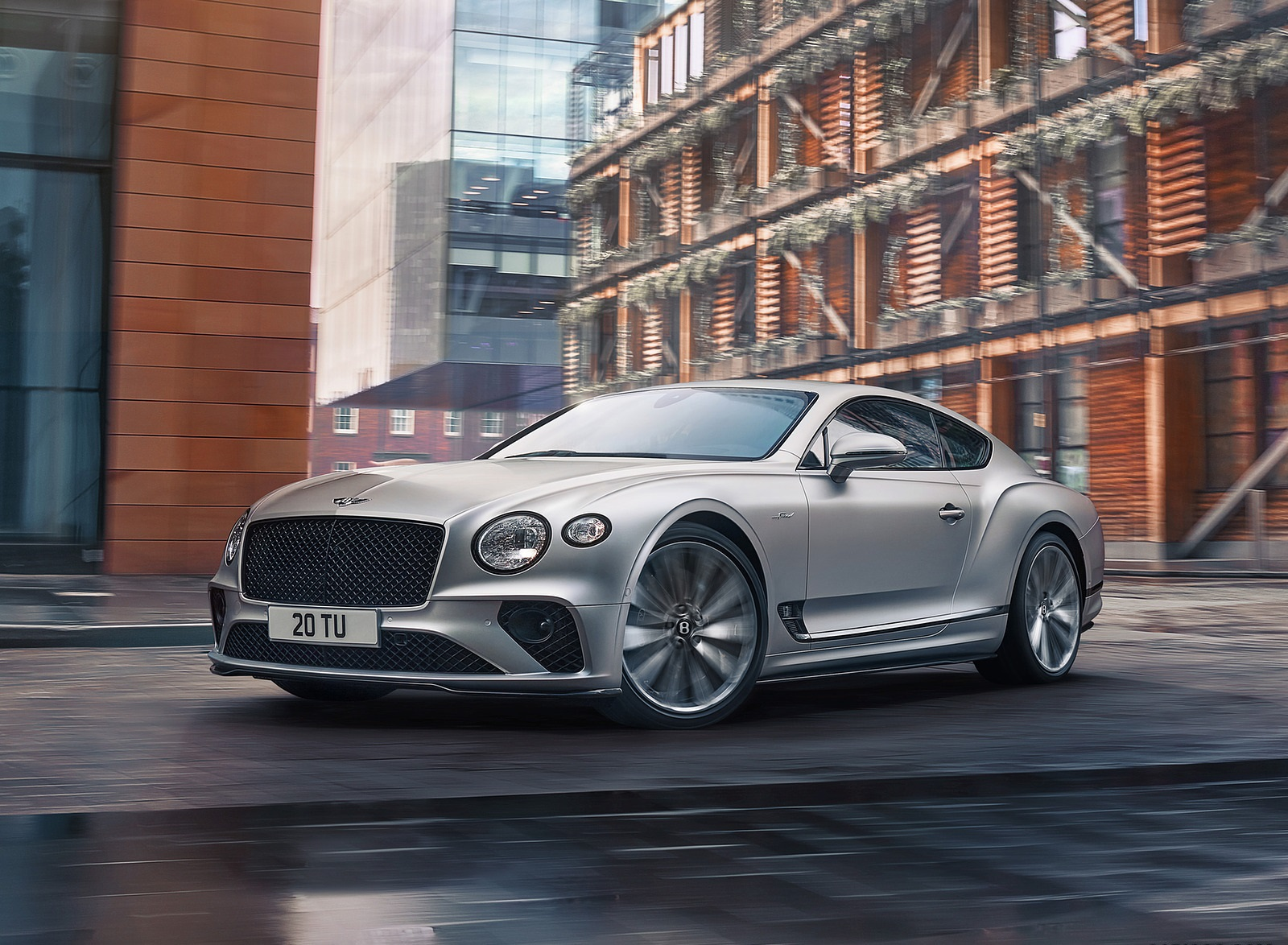 2022 Bentley Continental GT Speed Front Three-Quarter Wallpapers (2)