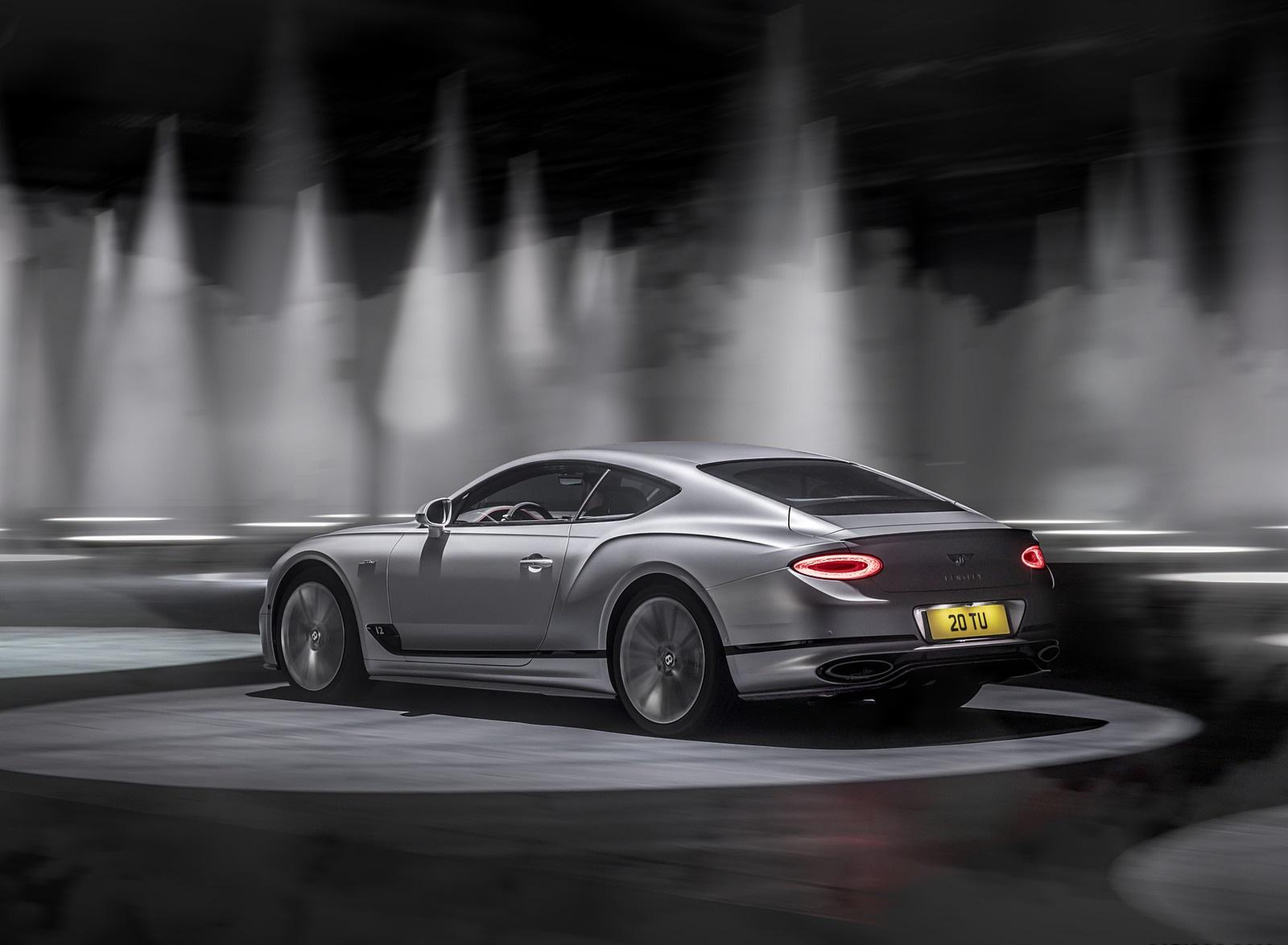 2022 Bentley Continental GT Speed Rear Three-Quarter Wallpapers  (5)