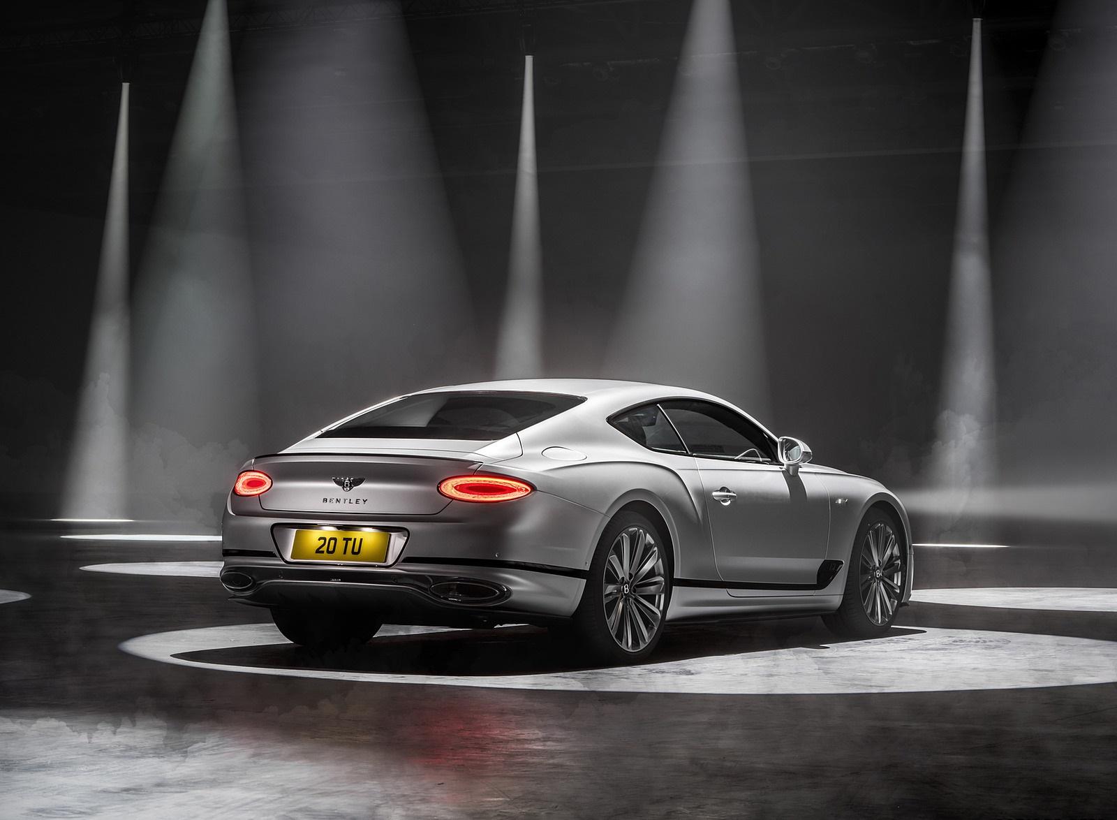 2022 Bentley Continental GT Speed Rear Three-Quarter Wallpapers (6)