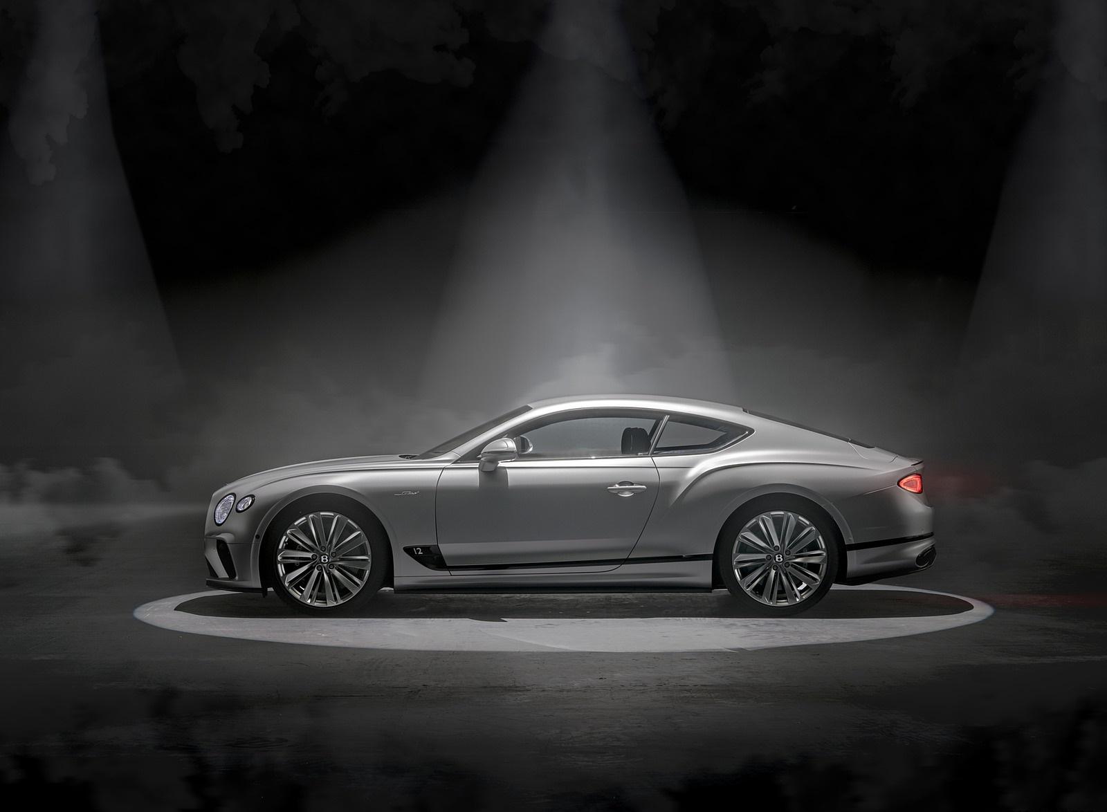 2022 Bentley Continental GT Speed Side Wallpapers (9)