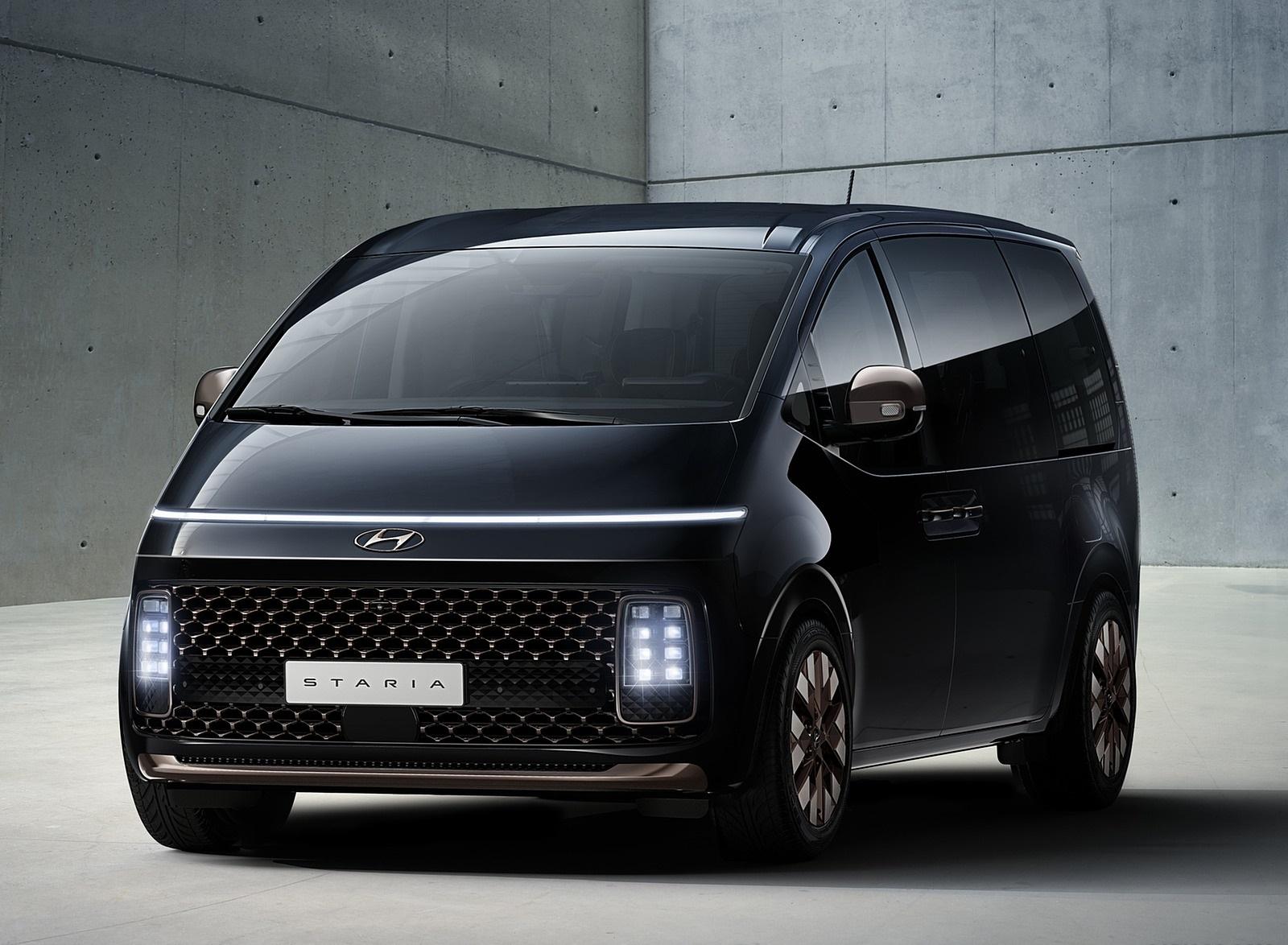 2022 Hyundai Staria Front Three-Quarter Wallpapers (4)
