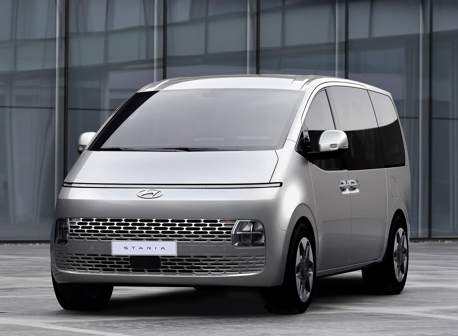 2022 Hyundai Staria Front Wallpapers (1)