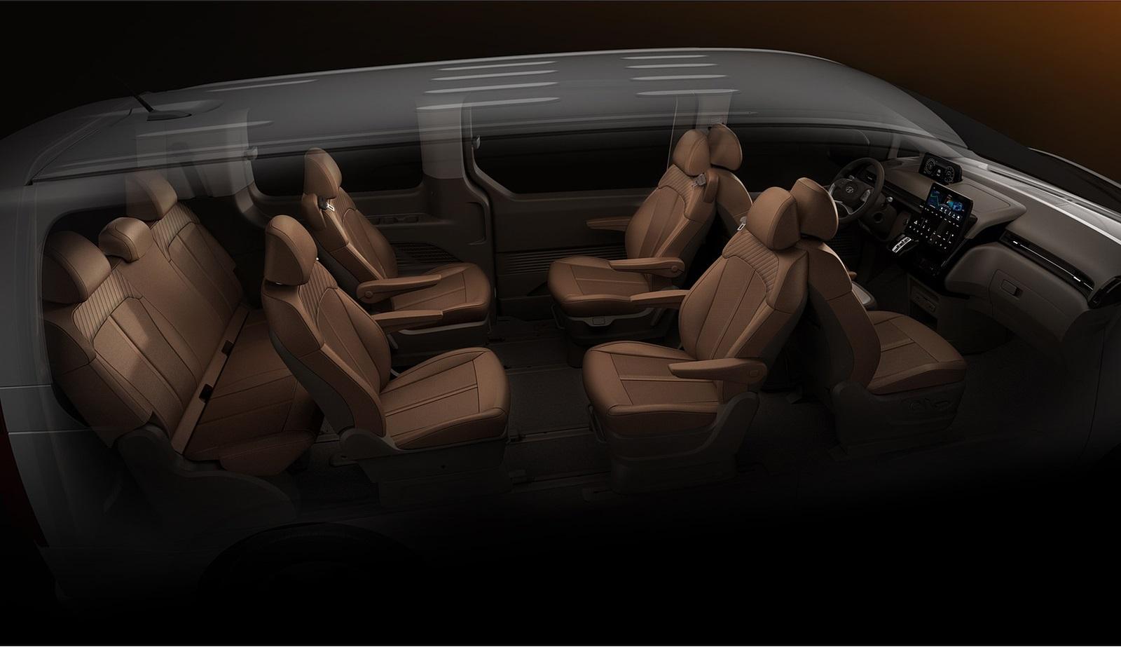 2022 Hyundai Staria Interior Wallpapers (10)