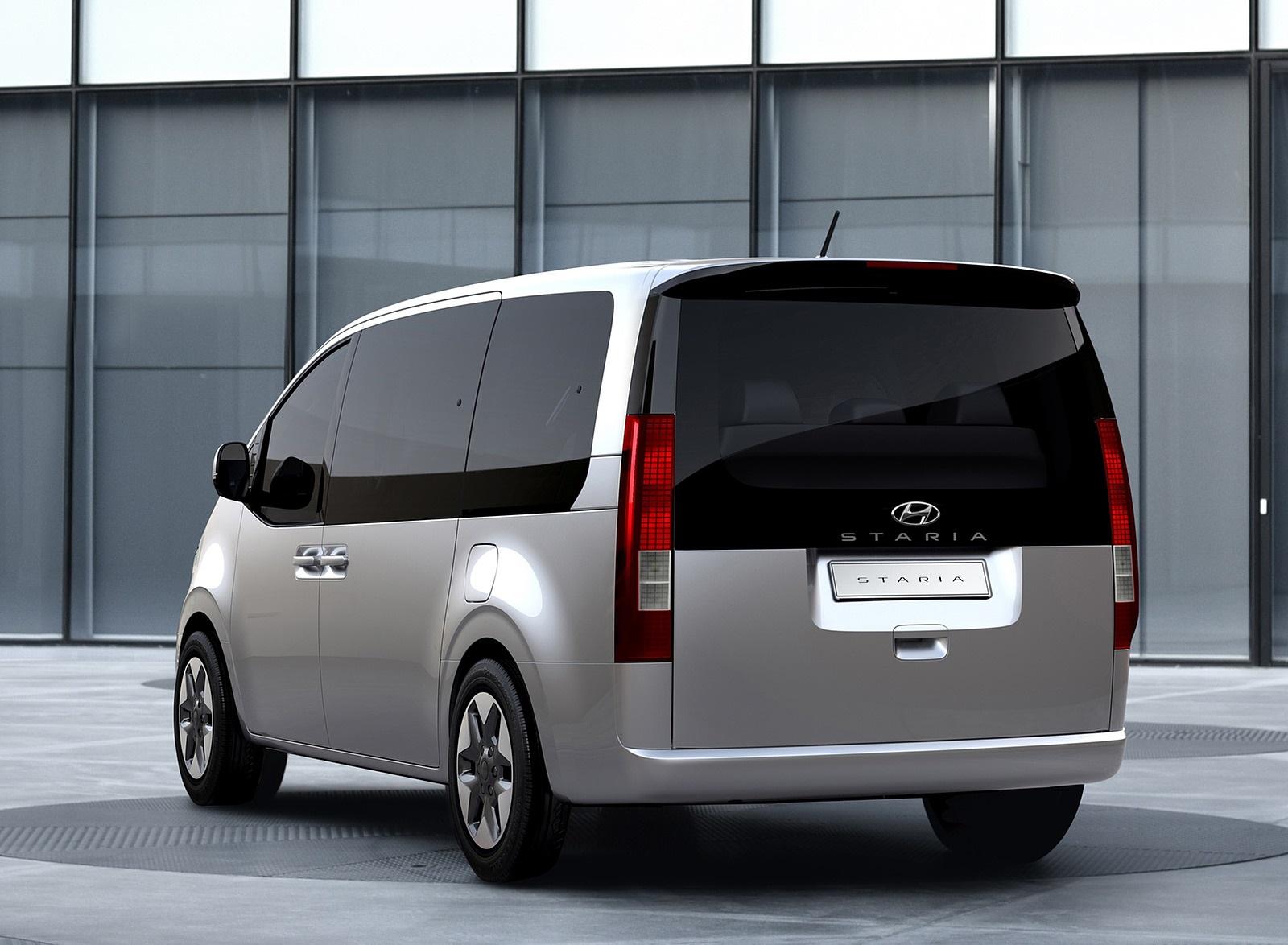 2022 Hyundai Staria Rear Wallpapers (2)