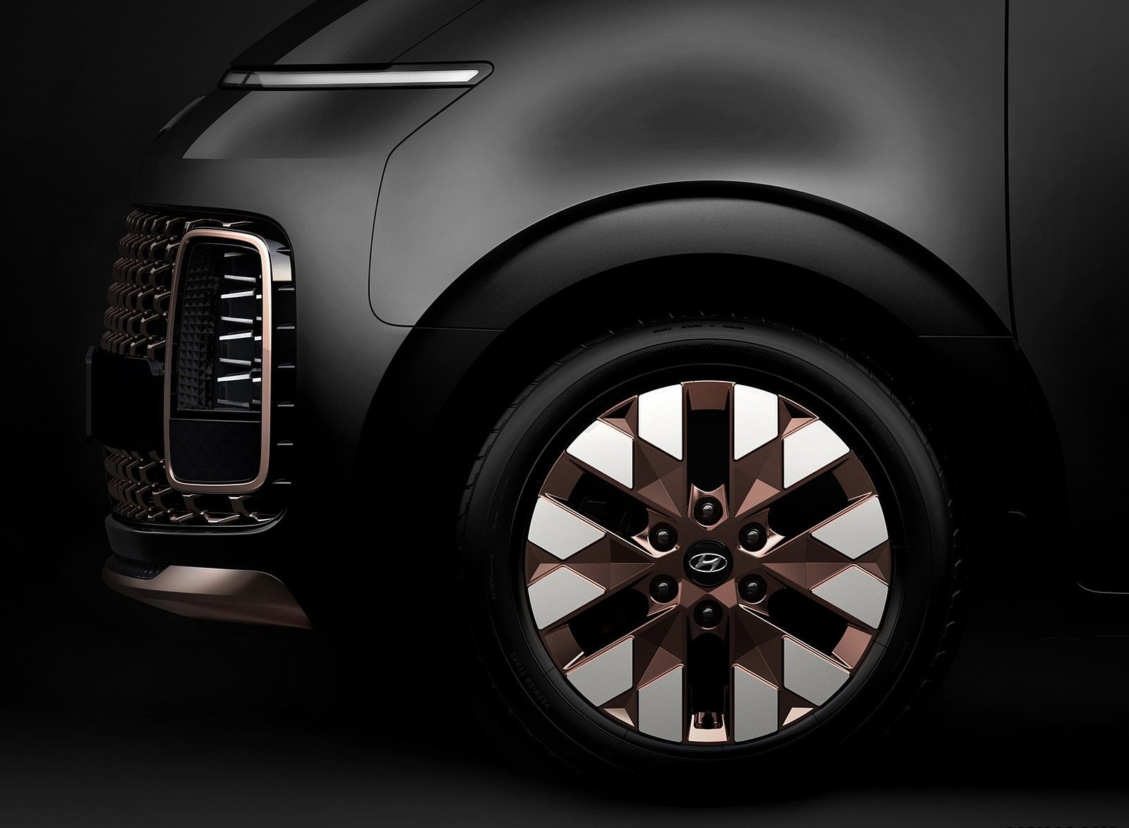 2022 Hyundai Staria Wheel Wallpapers (7)