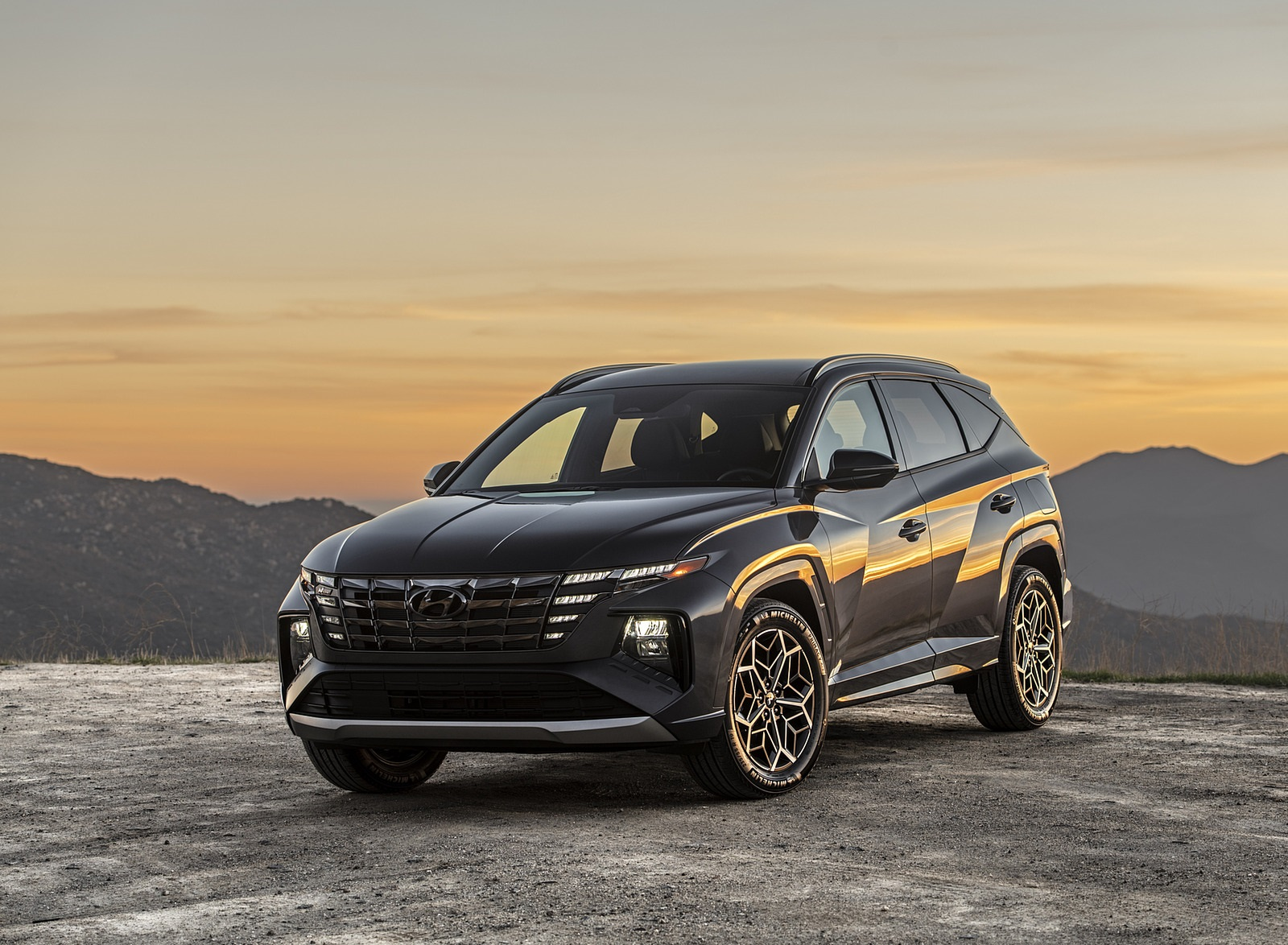 2022 Hyundai Tucson N Line Front Three-Quarter Wallpapers (6)