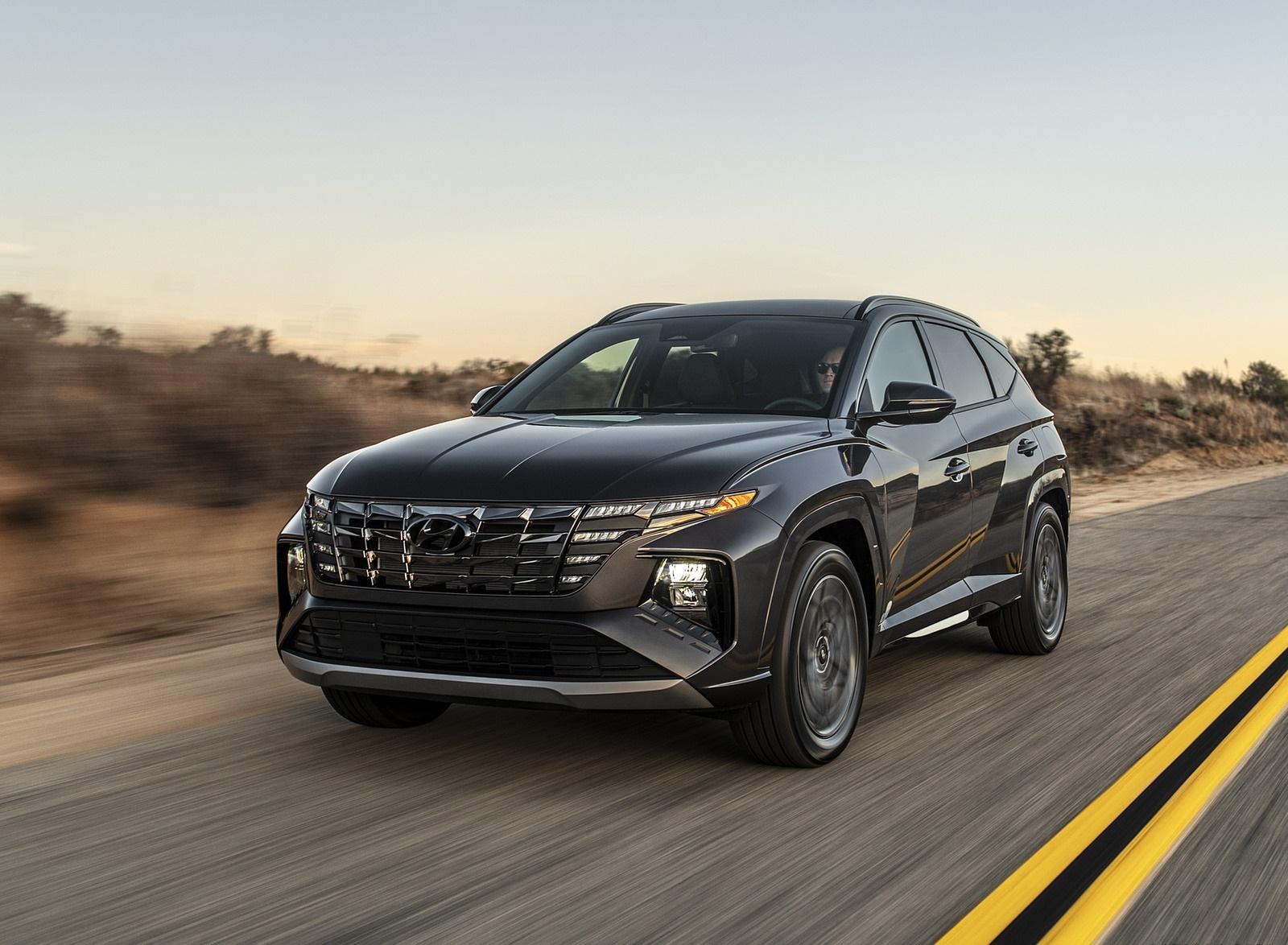 2022 Hyundai Tucson N Line Front Three-Quarter Wallpapers (1)