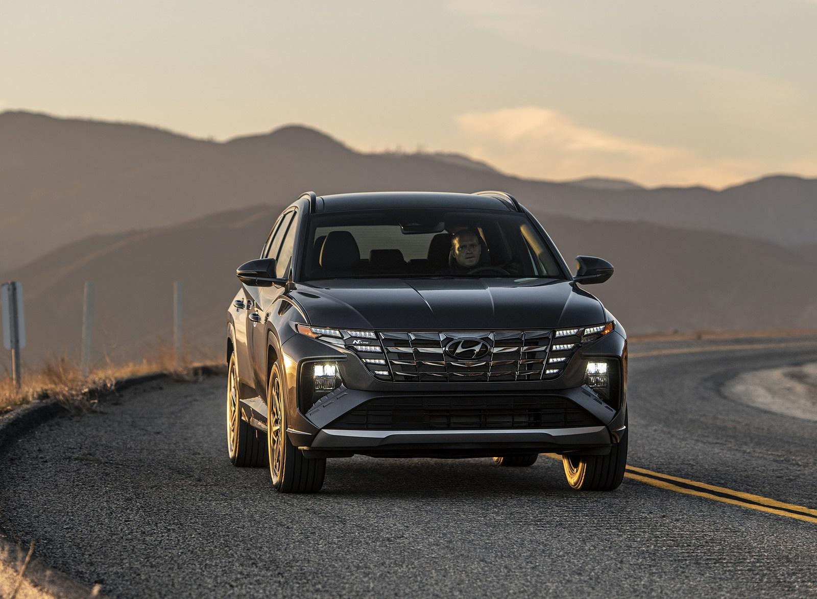 2022 Hyundai Tucson N Line Front Wallpapers  (3)