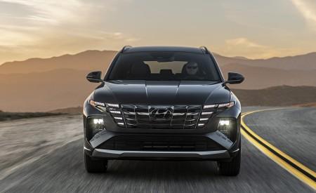 2022 Hyundai Tucson N Line Front Wallpapers 450x275 (2)