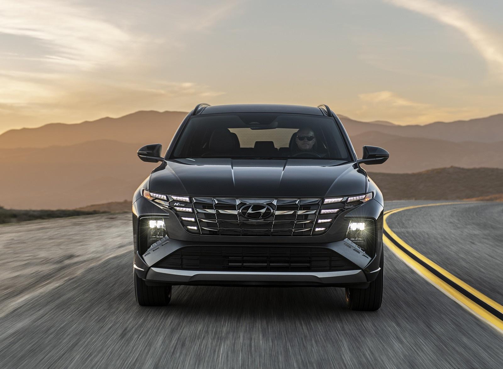 2022 Hyundai Tucson N Line Front Wallpapers (2)
