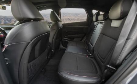 2022 Hyundai Tucson N Line Interior Rear Seats Wallpapers 450x275 (40)