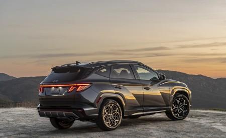 2022 Hyundai Tucson N Line Rear Three-Quarter Wallpapers  450x275 (7)
