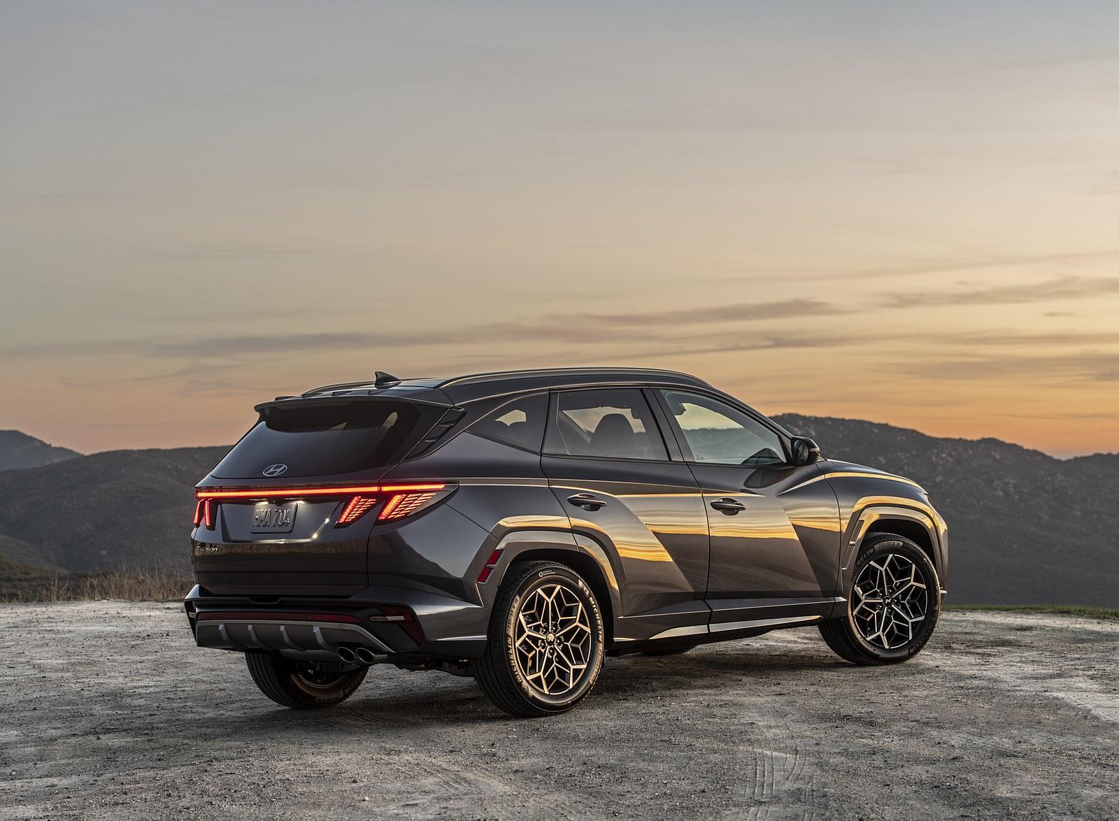 2022 Hyundai Tucson N Line Rear Three-Quarter Wallpapers  (7)