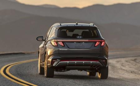 2022 Hyundai Tucson N Line Rear Wallpapers 450x275 (4)