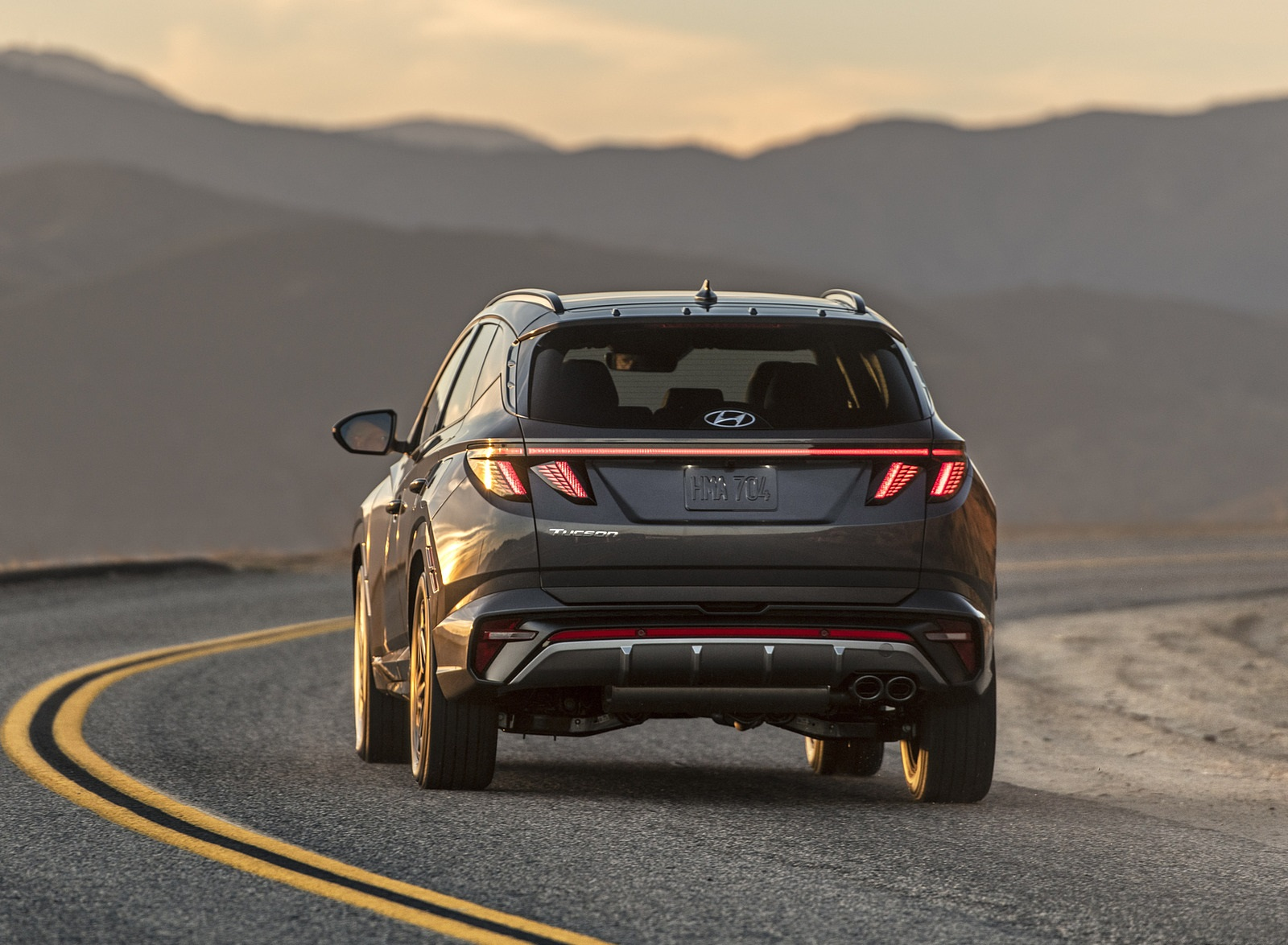 2022 Hyundai Tucson N Line Rear Wallpapers (4)