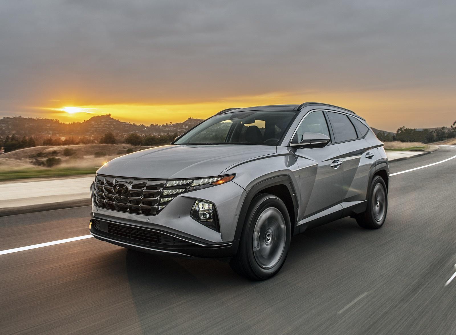 2022 Hyundai Tucson Plug-In Hybrid Front Three-Quarter Wallpapers  (1)