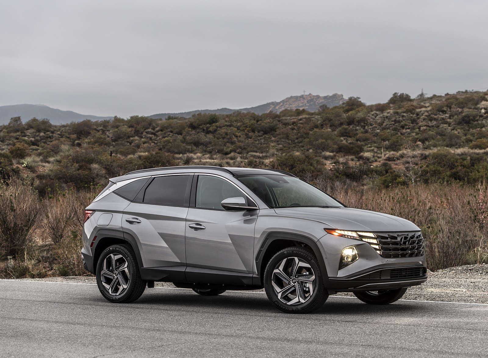 2022 Hyundai Tucson Plug-In Hybrid Front Three-Quarter Wallpapers (5)