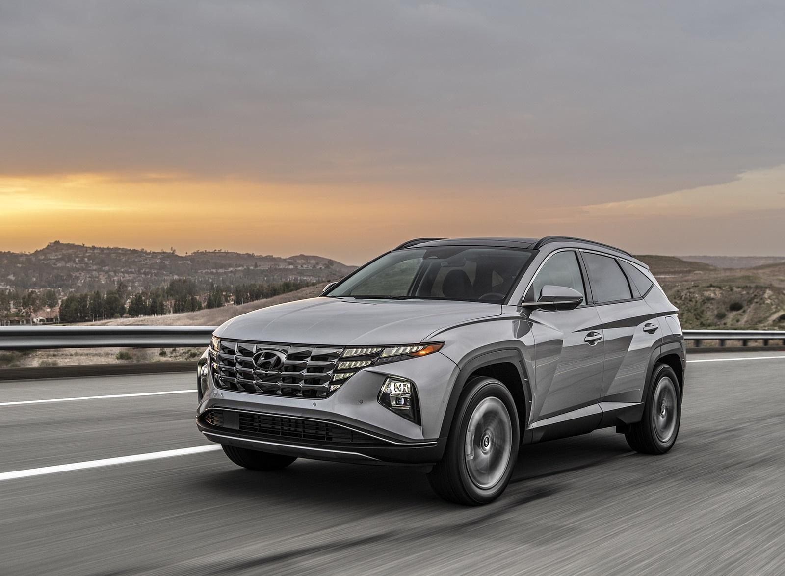 2022 Hyundai Tucson Plug-In Hybrid Front Three-Quarter Wallpapers (2)
