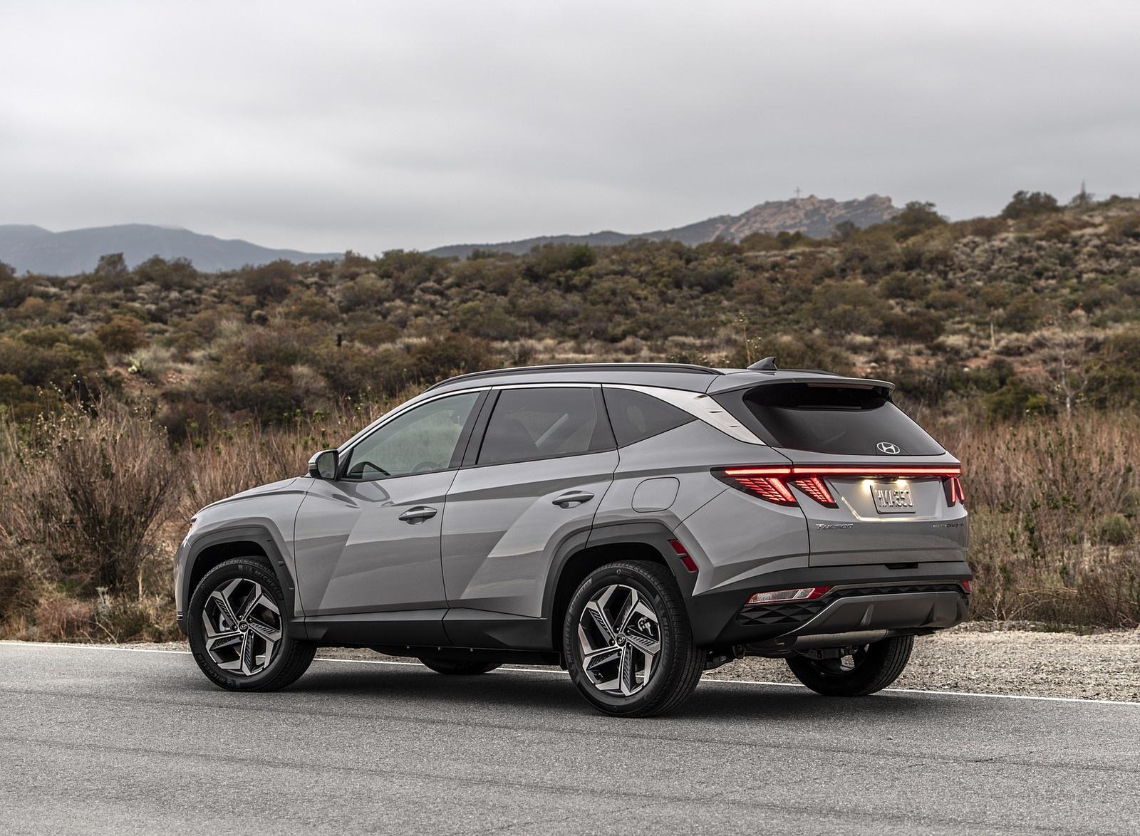 2022 Hyundai Tucson Plug-In Hybrid Rear Three-Quarter Wallpapers  (6)
