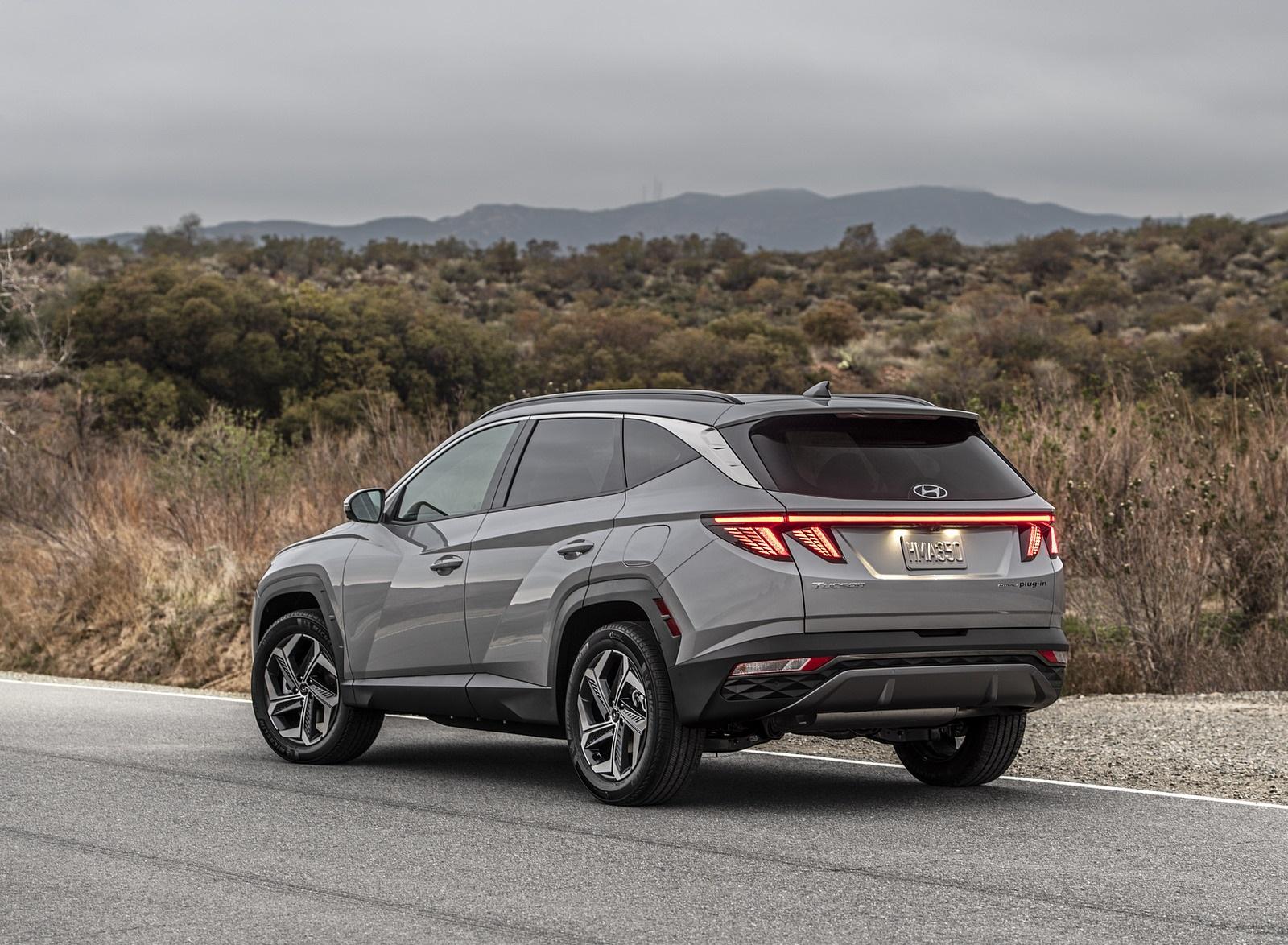 2022 Hyundai Tucson Plug-In Hybrid Rear Three-Quarter Wallpapers (7)