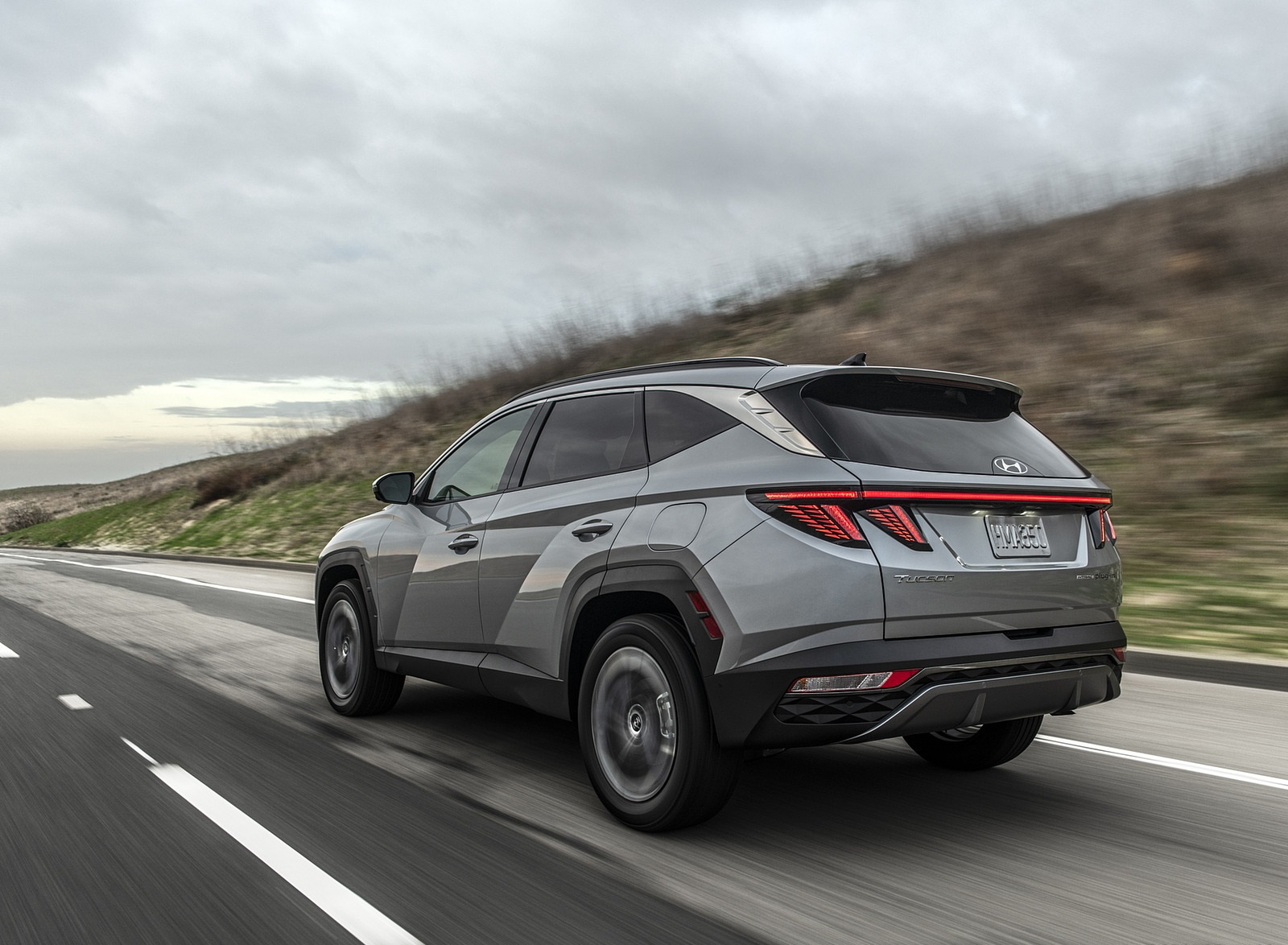 2022 Hyundai Tucson Plug-In Hybrid Rear Three-Quarter Wallpapers (3)