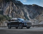 2022 Jeep Grand Wagoneer Front Three-Quarter Wallpapers 150x120 (6)