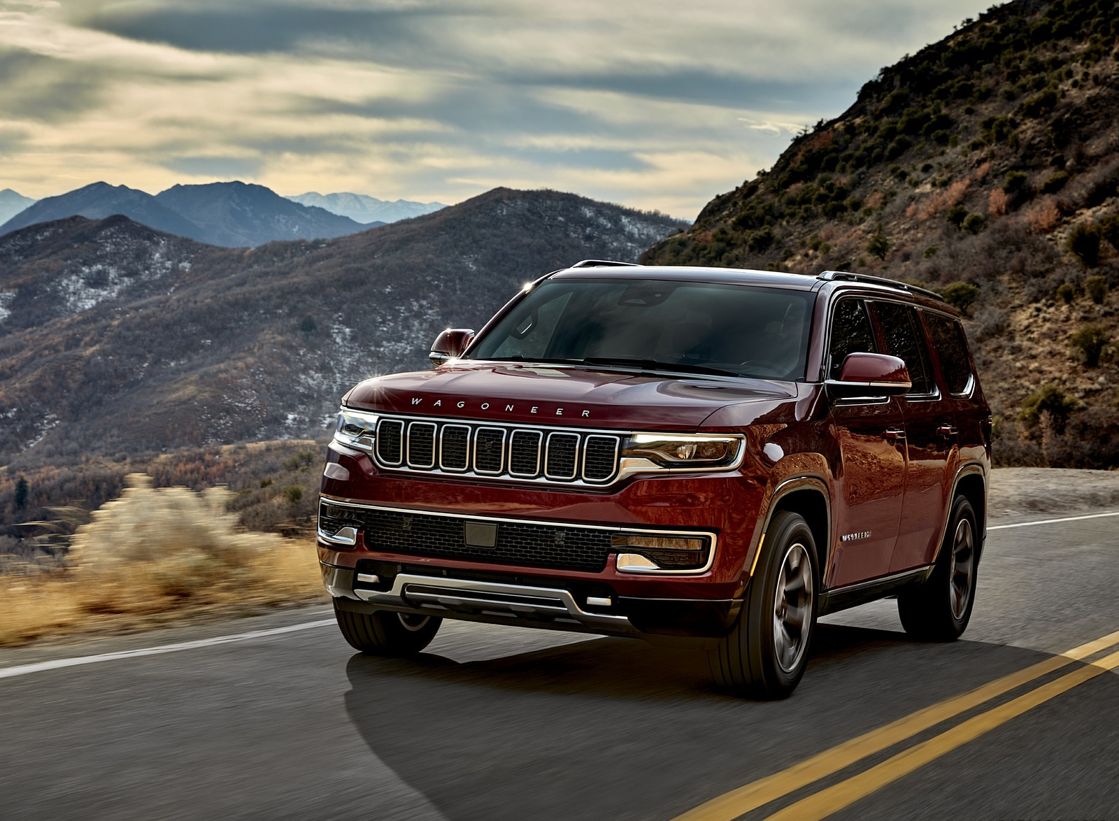 2022 Jeep Wagoneer Front Three-Quarter Wallpapers (9)
