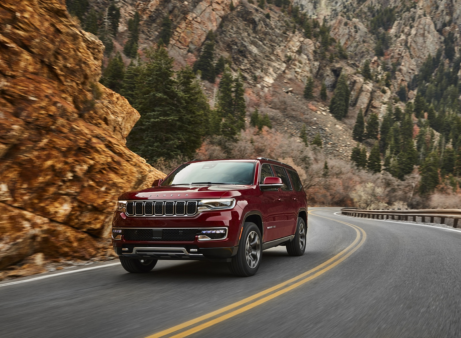 2022 Jeep Wagoneer Front Three-Quarter Wallpapers (7)
