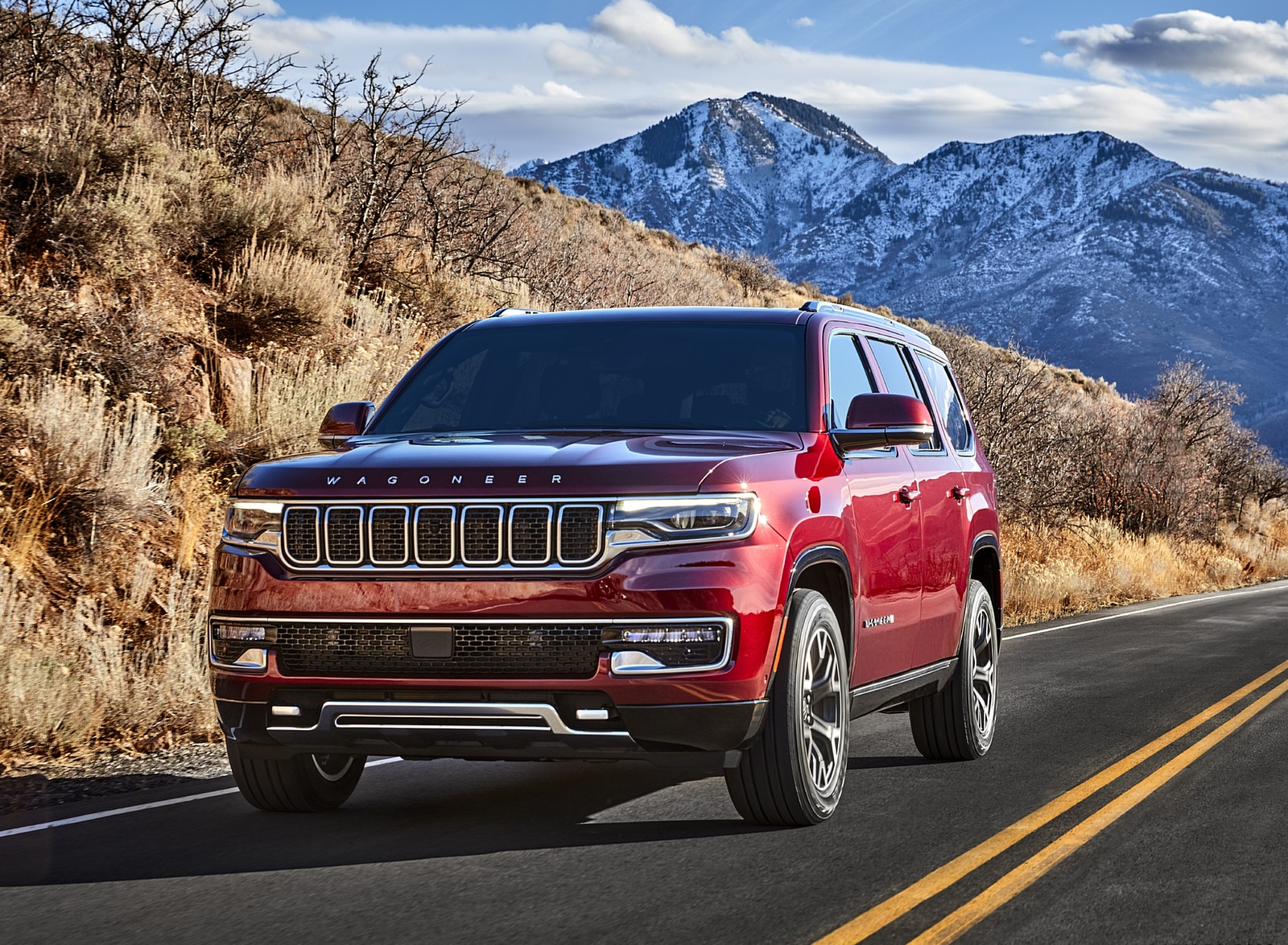 2022 Jeep Wagoneer Front Three-Quarter Wallpapers (1)