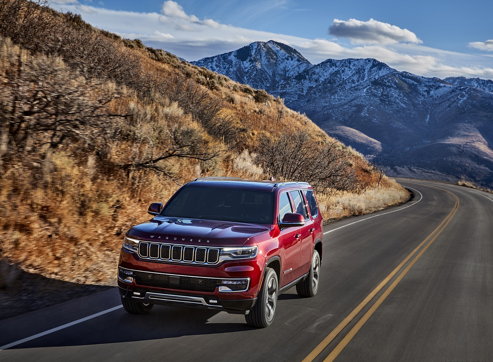2022 Jeep Wagoneer Front Wallpapers (4)