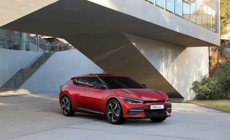 2022 Kia EV6 GT-Line Wallpapers HD