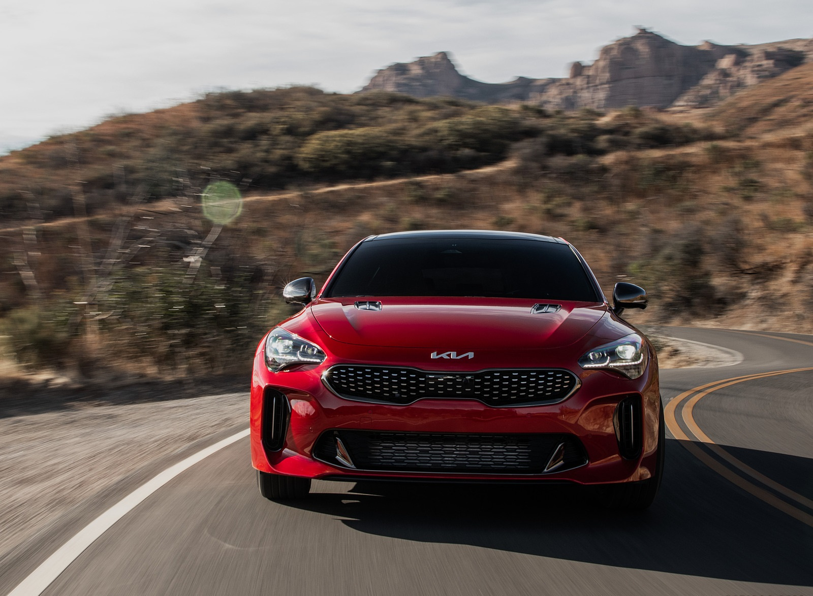 2022 Kia Stinger GT Front Wallpapers  (3)