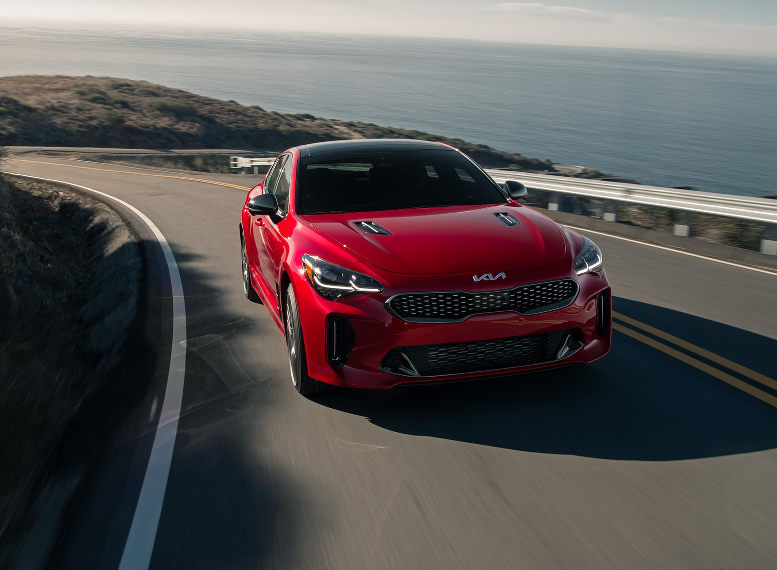 2022 Kia Stinger GT Front Wallpapers (4)
