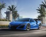 2021 Acura NSX Long Beach Blue Pearl Wallpapers HD