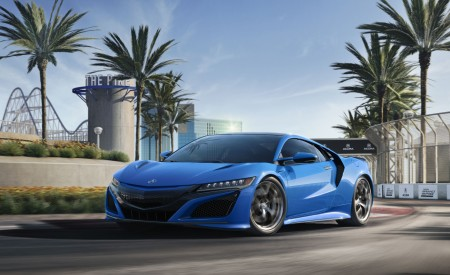 2021 Acura NSX Long Beach Blue Pearl Wallpapers HD