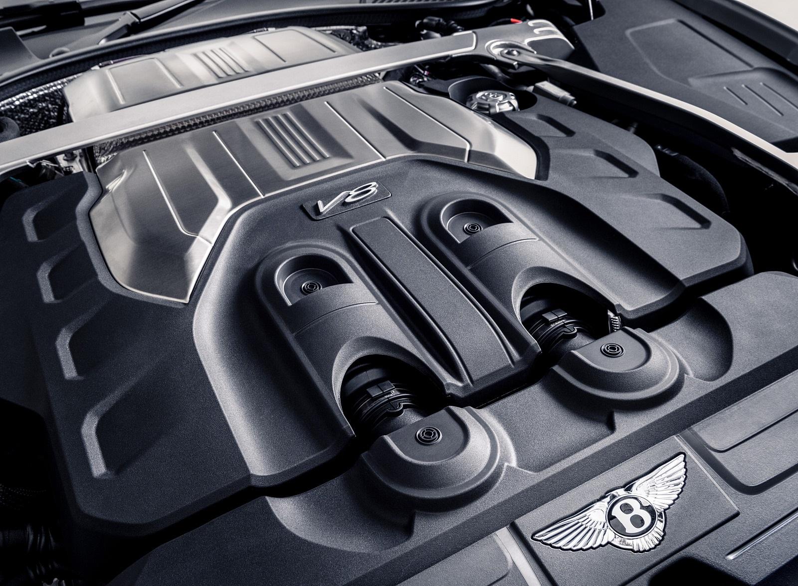 2021 Bentley Continental GT V8 Equinox Edition Engine Wallpapers (5)