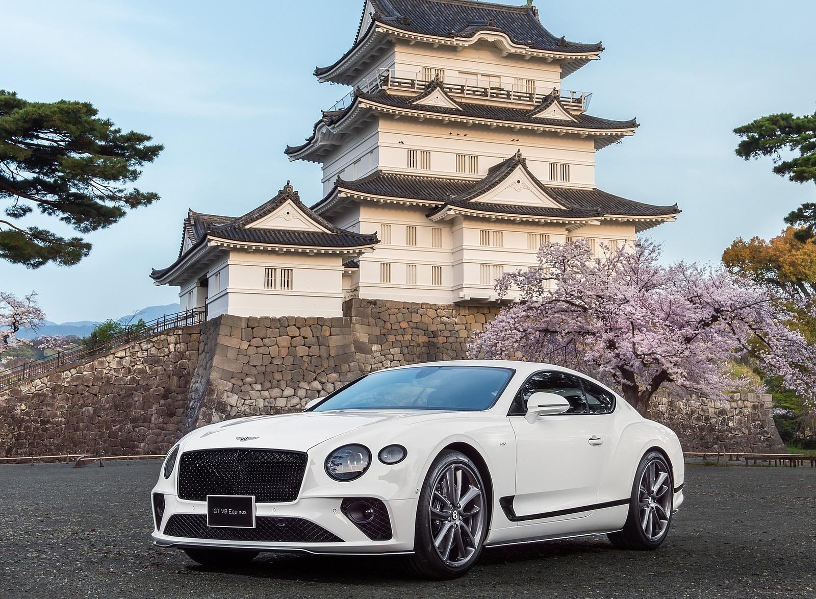 2021 Bentley Continental GT V8 Equinox Edition Front Three-Quarter Wallpapers (1)