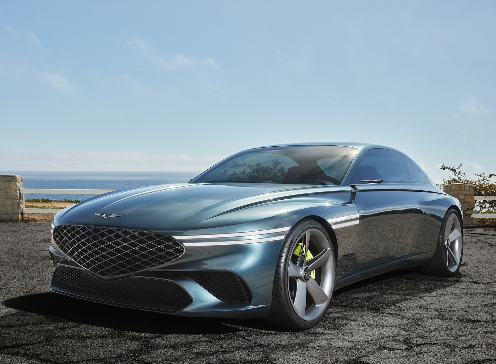 2021 Genesis X Concept Front Three-Quarter Wallpapers  (2)
