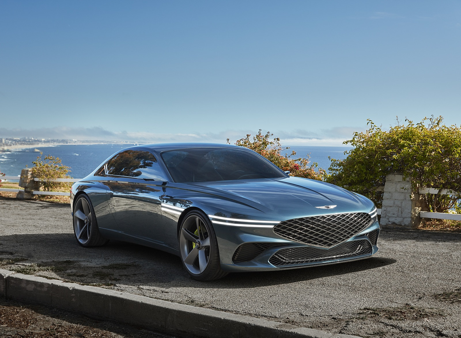 2021 Genesis X Concept Front Three-Quarter Wallpapers  (1)