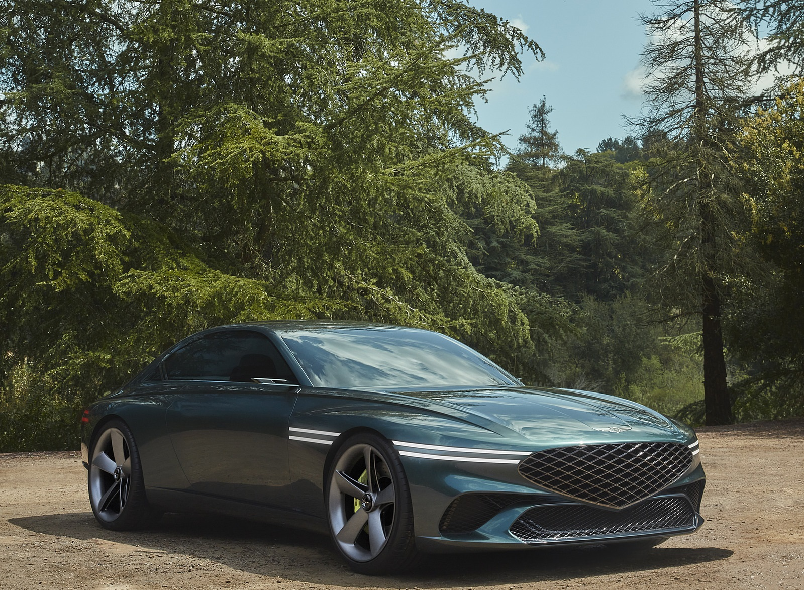 2021 Genesis X Concept Front Three-Quarter Wallpapers (9)