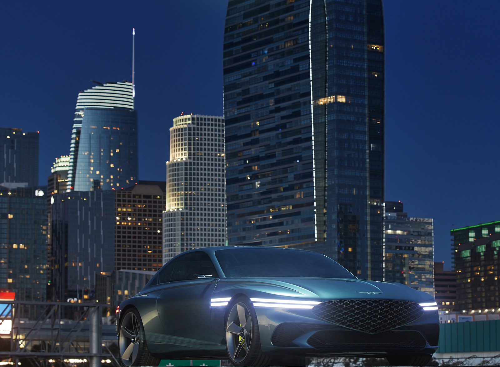 2021 Genesis X Concept Front Three-Quarter Wallpapers (7)