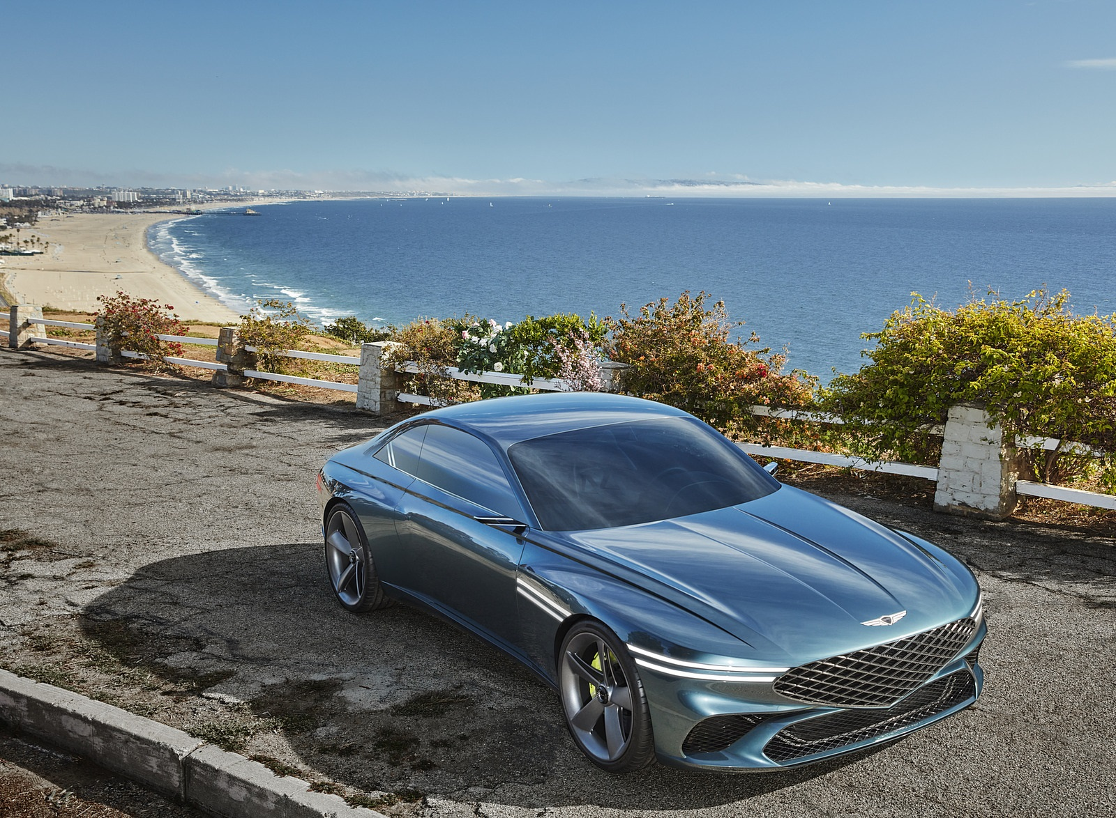 2021 Genesis X Concept Front Three-Quarter Wallpapers (3)