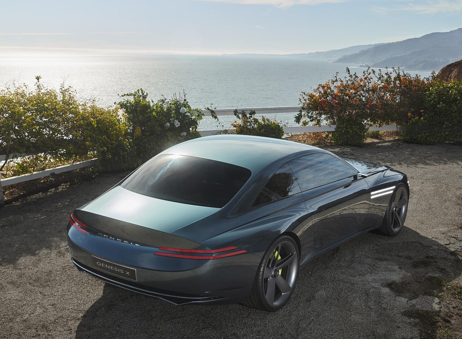 2021 Genesis X Concept Rear Three-Quarter Wallpapers (4)