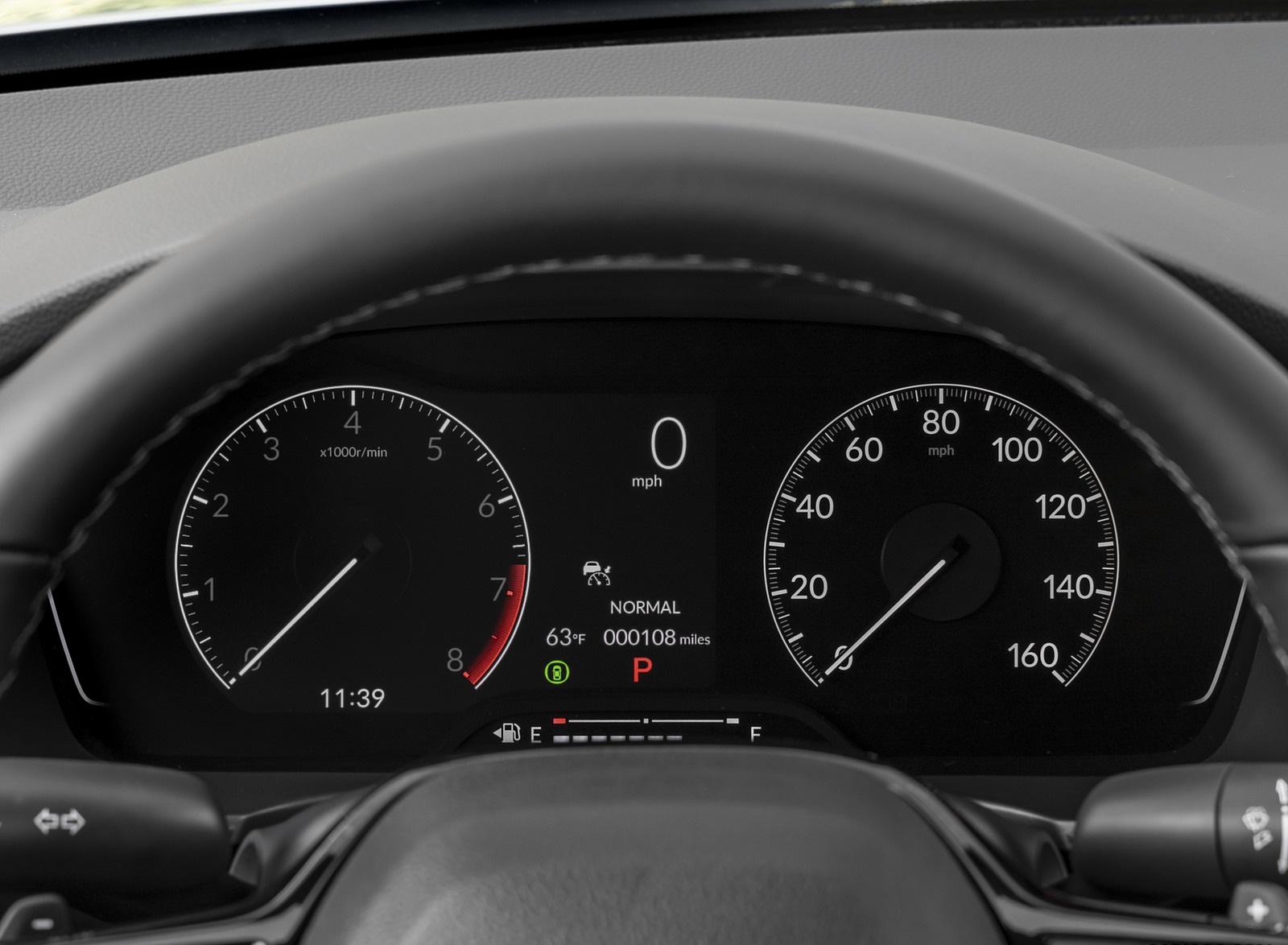 2022 Honda Civic Sedan Sport Digital Instrument Cluster Wallpapers (8)