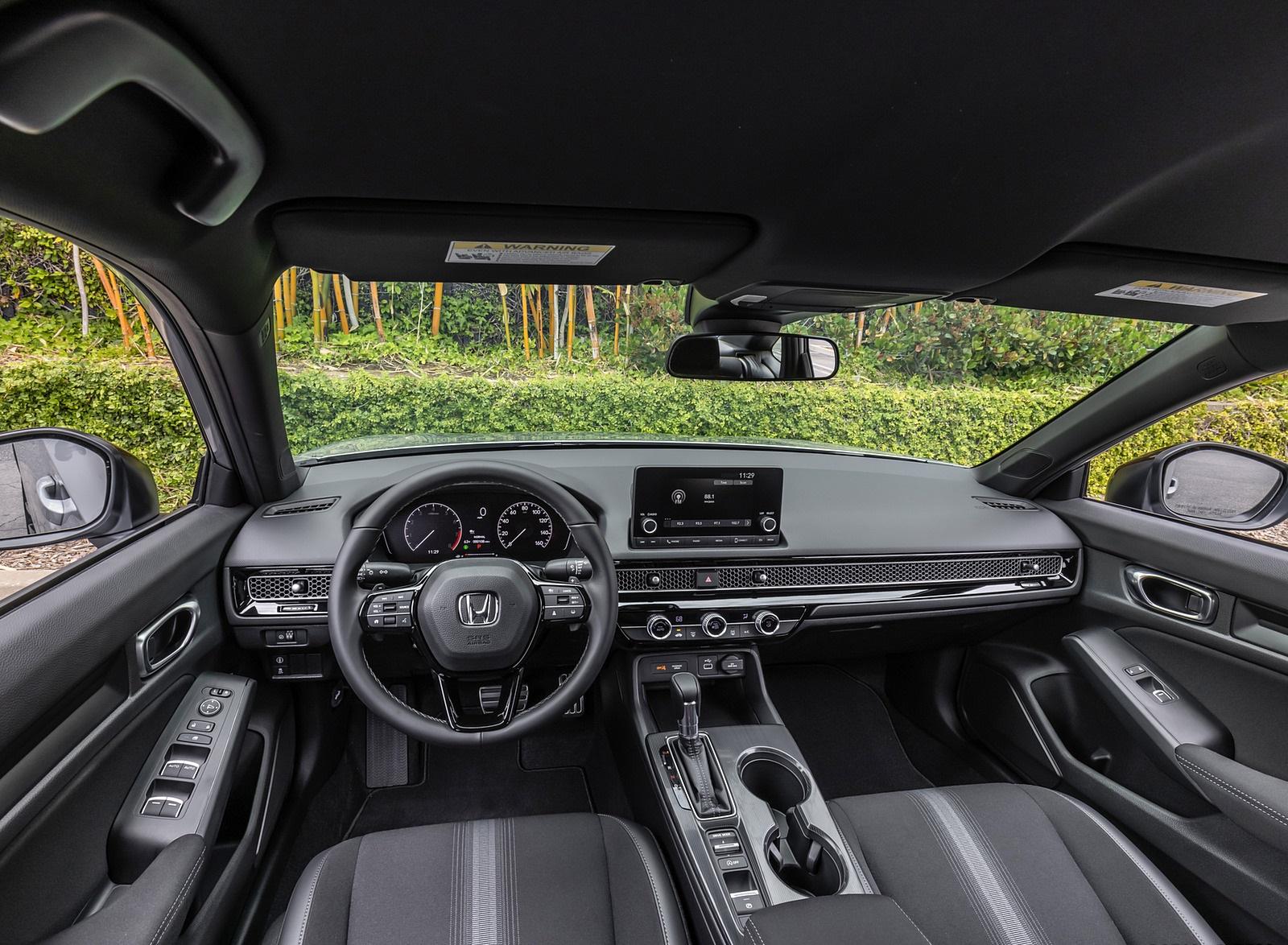2022 Honda Civic Sedan Sport Interior Cockpit Wallpapers (10)