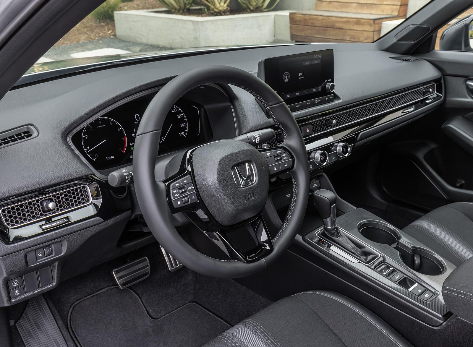 2022 Honda Civic Sedan Sport Interior Wallpapers (9)